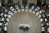 """Plenarsaal des Bundesrates in Berlin"" © Bundesrat 2006"