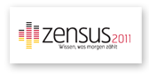 The picture shows the 2011 Census logo